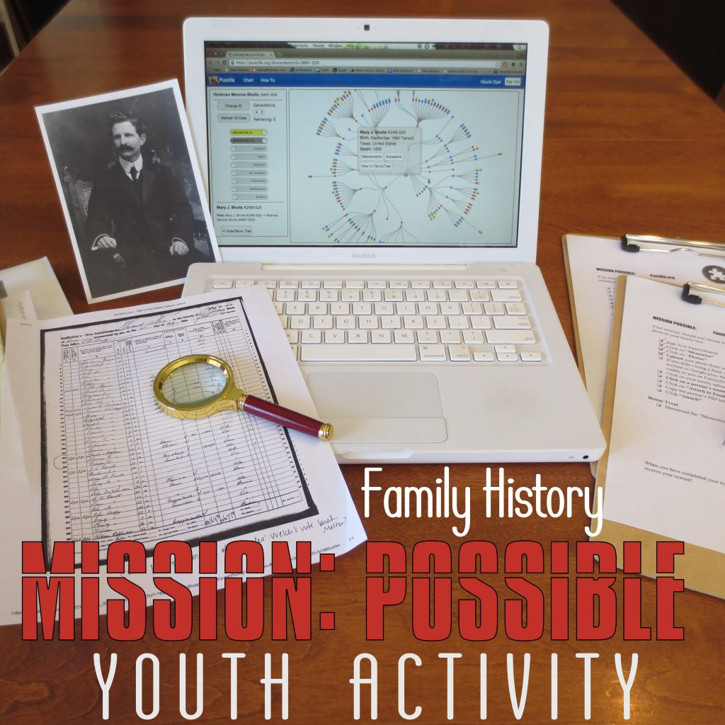 MISSION POSSIBLE Youth Activity – Family Locket