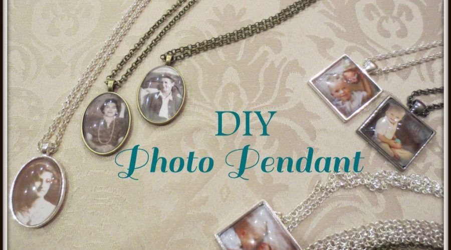 Make a Photo Pendant