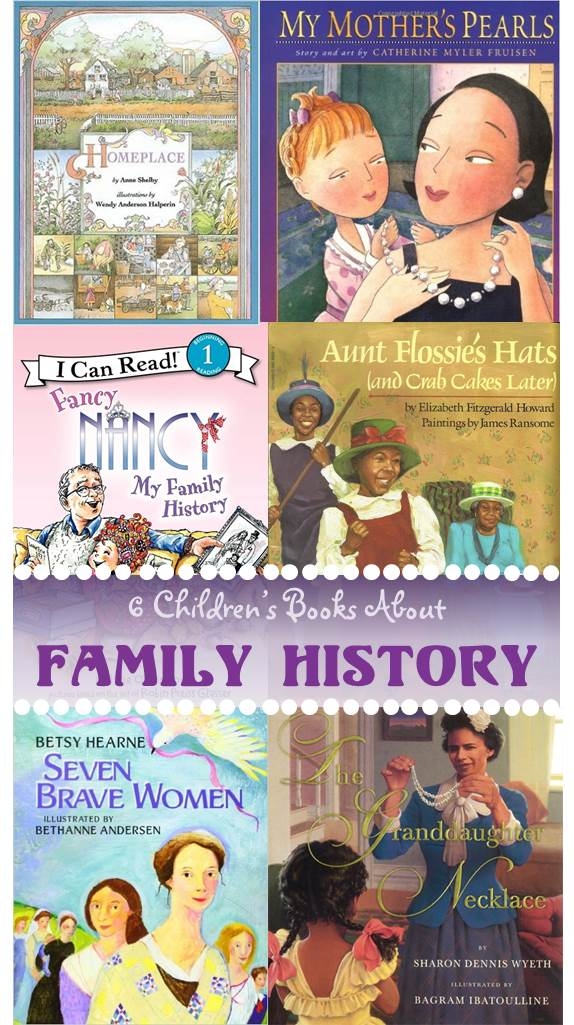 6 children s books about family history family locket