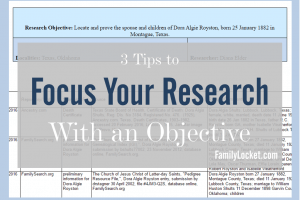 3 Tips to Focus Your Research With An Objective