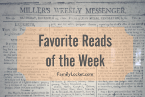 Favorite Reads of the Week: 19 November 2016 – FAN, Memoir, Thanksgiving
