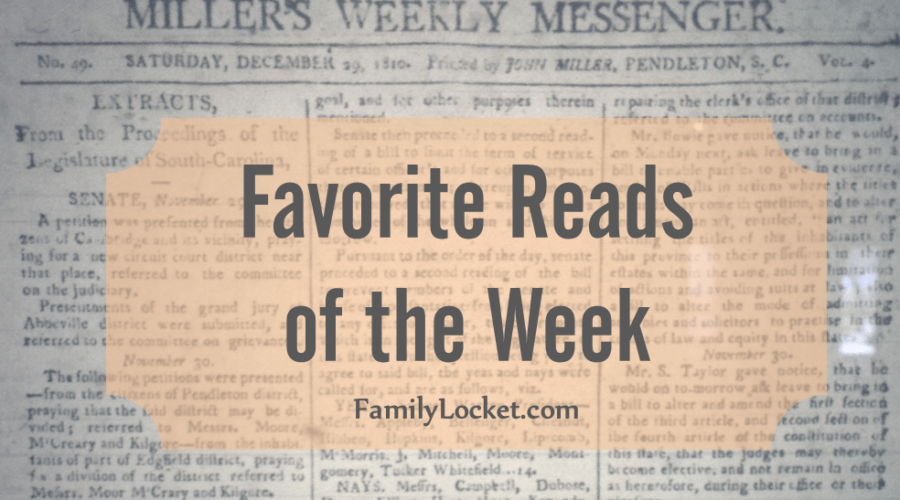 Favorite Reads of the Week: 25 June 2016