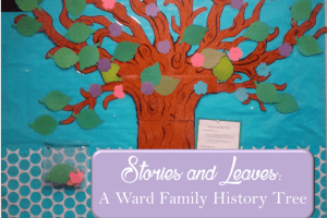 Stories and Leaves: A Ward Family History Tree