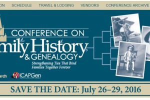 BYU Conference on Family History & Genealogy 2016
