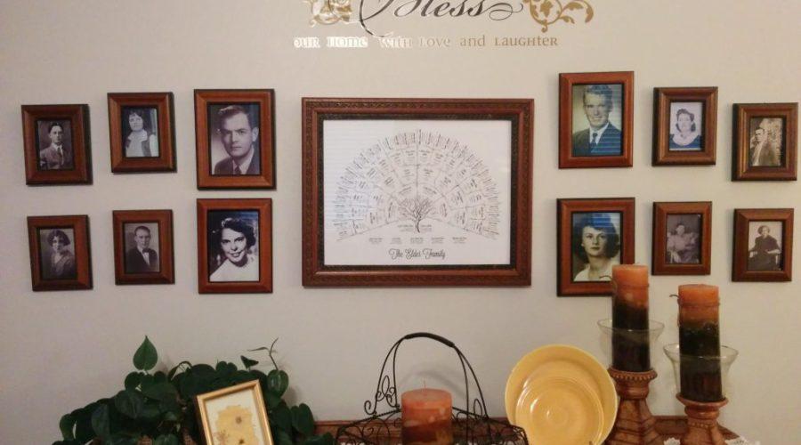 The Family History Wall
