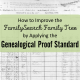 How to Improve the FamilySearch Family Tree by Applying the Genealogical Proof Standard