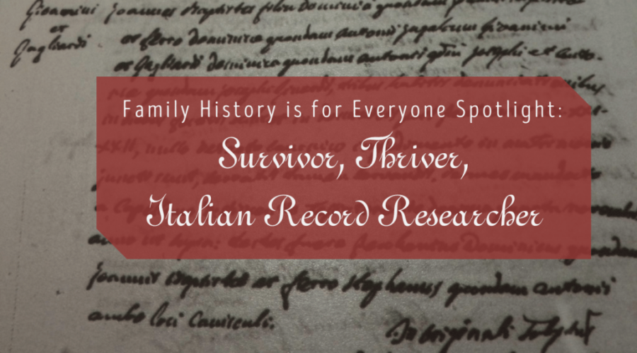 Family History is for Everyone Spotlight: Autumn Zobrist