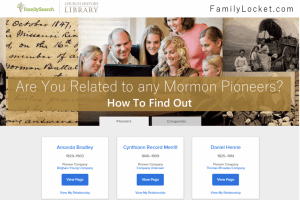 How to Find Out if You Have Mormon Pioneer Ancestors