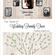 Wedding Family Tree Charts – Two Types