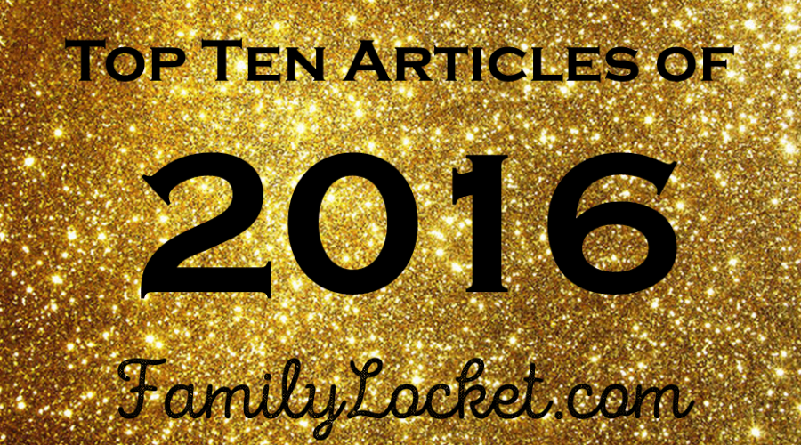 Top Ten Articles of 2016