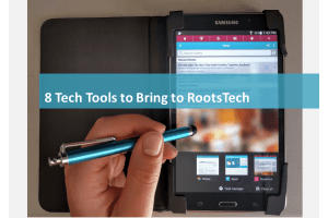 8 Tech Tools to Bring to RootsTech