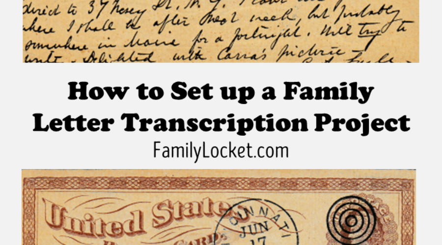 Voices from the Past: A Family Letter Transcription Project – Part Two