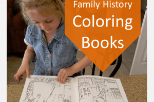 Family History Coloring Books with ReallyColor