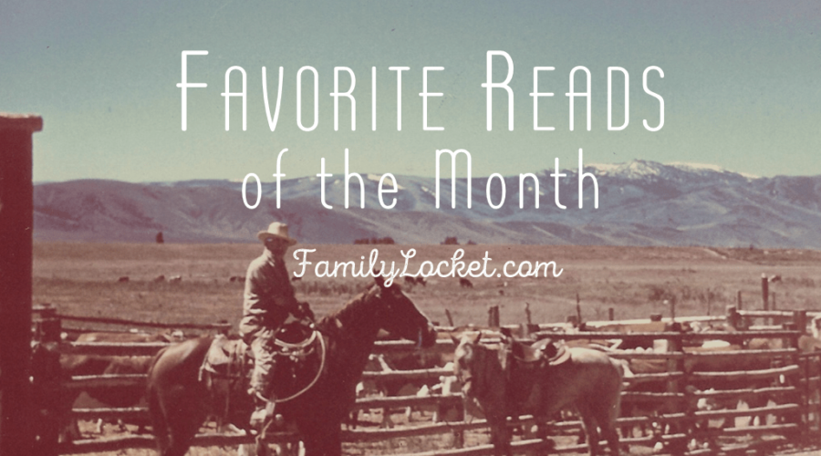 Favorite Reads of the Month – March 2017