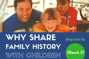 Family History for Children Blog Link Up