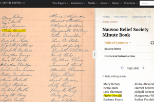 How to Find Your Ancestors in Early Relief Society Records
