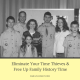 Eliminate Your Time Thieves and Free Up Family History Time