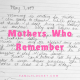 Mothers Who Remember