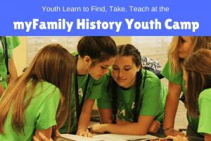 BYU myFamily History Youth Camp