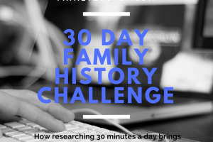 My Thirty Day Challenge: How Researching 30 Minutes a Day Brought Discoveries, Joy and Clarity