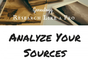 Research Like a Pro, Part 2: Analyze Your Sources