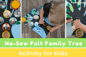 Felt Family Tree – Interactive Activity for Kids
