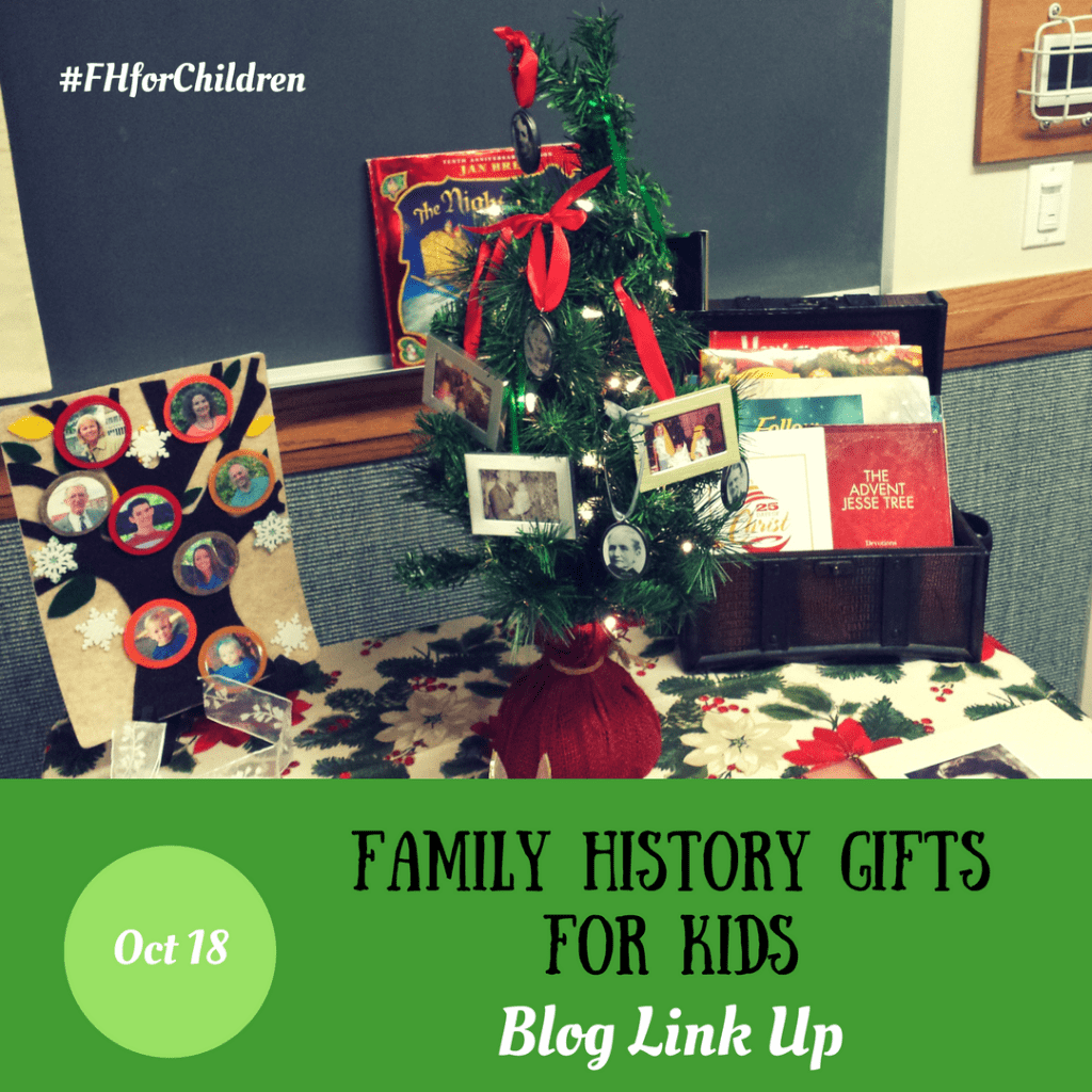 Family History Gifts for Children – Blog Link Up – Family Locket