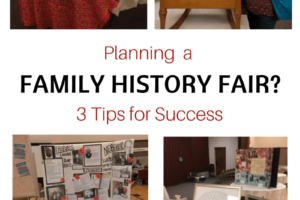 Planning a Family History Fair? 3 Tips for Success