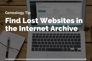 Find Your Lost Websites in the Internet Archive: Wayback Machine