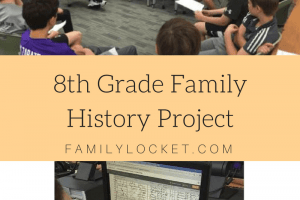 8th Grade Family History Projects in North Carolina