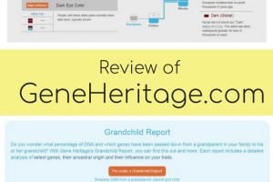 Review of Gene Heritage – a Third Party DNA and Inherited Traits Analysis Tool