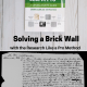 Solving a Brick Wall with the Research Like a Pro Method