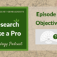 RLP 2: Research Objectives
