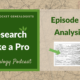 RLP 3: Analyze Your Sources