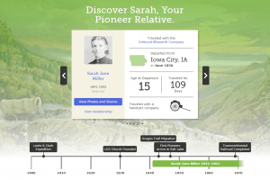 New FamilySearch Pioneer Discovery Experience Online