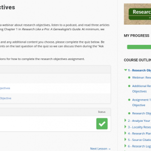 Research Like a Pro e-Course