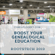 Boost Your Genealogical Education with RootsTech 2019