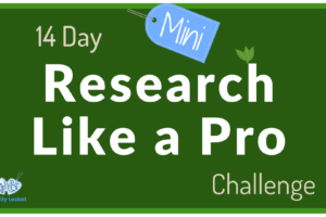 14 Day Mini Research Like a Pro Challenge