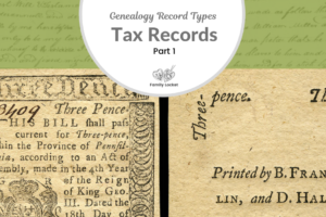 Back to the Basics with Tax Records: Part 1