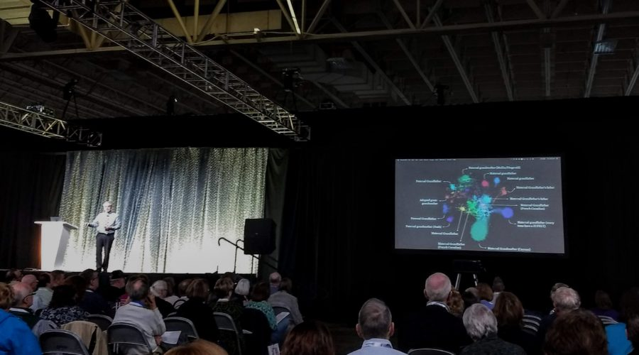 Adding Shared Matches and Genetic Networks to Your Research by Blaine Bettinger #RootsTech 2019