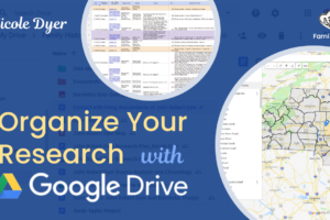 Organize Your Genealogy Research With Google Drive by Nicole Dyer at #RootsTech 2019