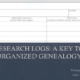 Research Logs: A Key to Organized Genealogy by Diana Elder at #RootsTech 2019