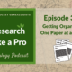 RLP 34: Getting Organized One Paper at a Time