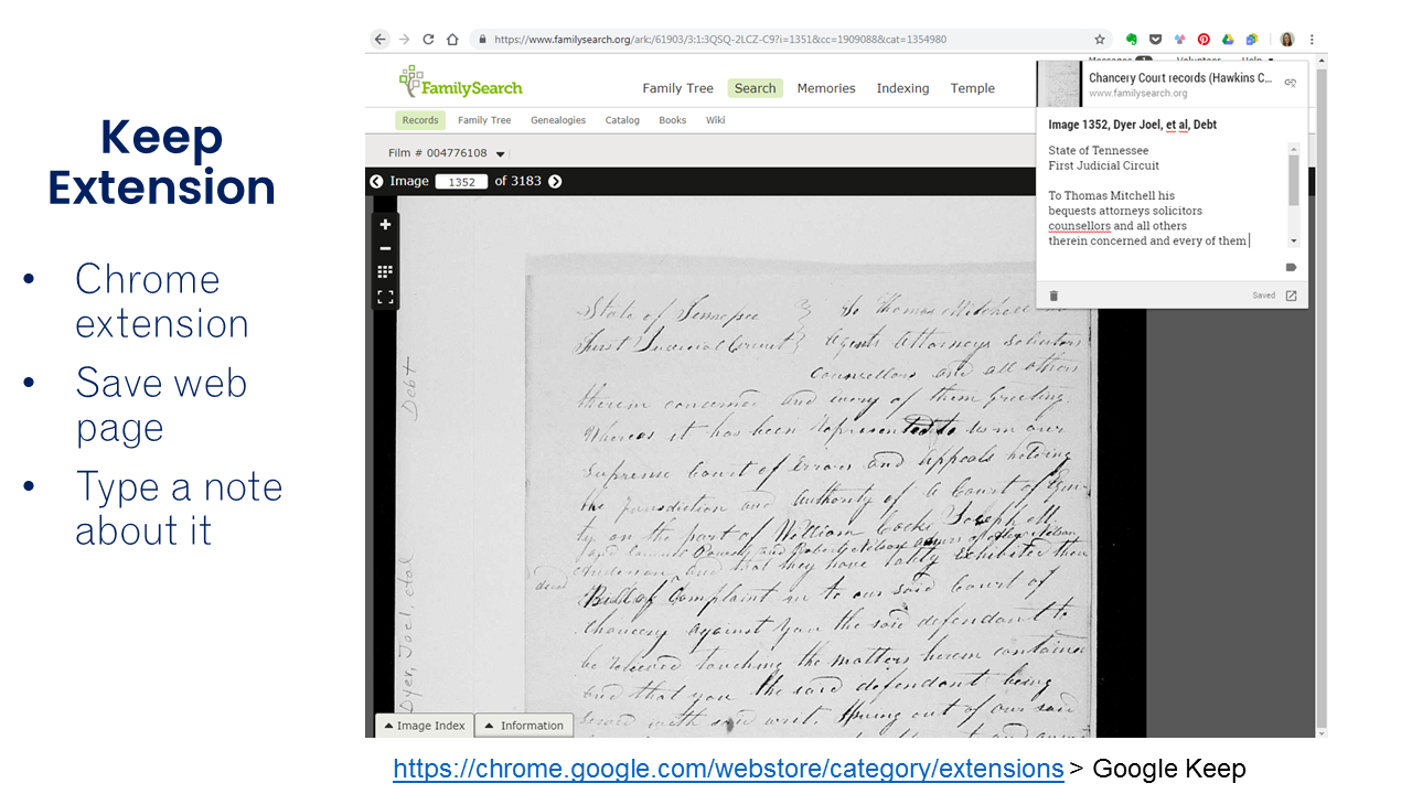 Organize Your Genealogy Research With Google Drive by Nicole