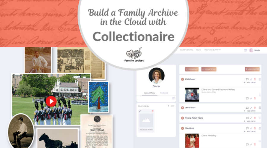 Build a Family Archive in the Cloud with Collectionaire