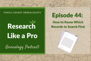 RLP 44 – How to Know Which Record to Search First