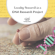 Locality Research in a DNA Research Project