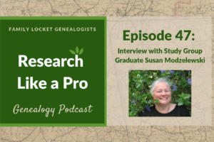 RLP 47 – Interview with Study Group Graduate Susan Modzelewski