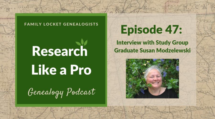 RLP 47 – Interview with Study Group Graduate Susan Modzelewski