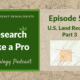 RLP 50 – U.S. Land Records Part 3